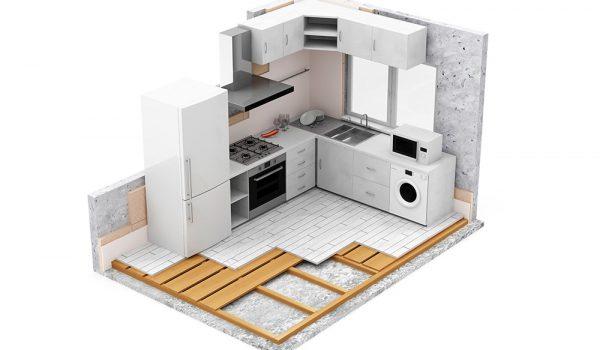 Mietobjekt: Kosten für neue Einbauküche müssen über zehn Jahre abgeschrieben werden